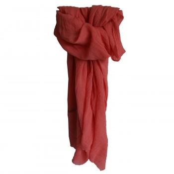 Etole couleur rose fuchsia unie en coton