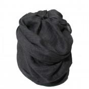 Etole couleur gris foncé noir effet chiné, cheich - cheche