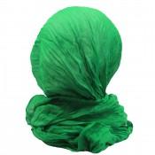 Etole vert émeraude unie en viscose