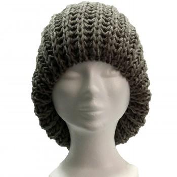bonnet-pompon-laine-chaud-doux-gris