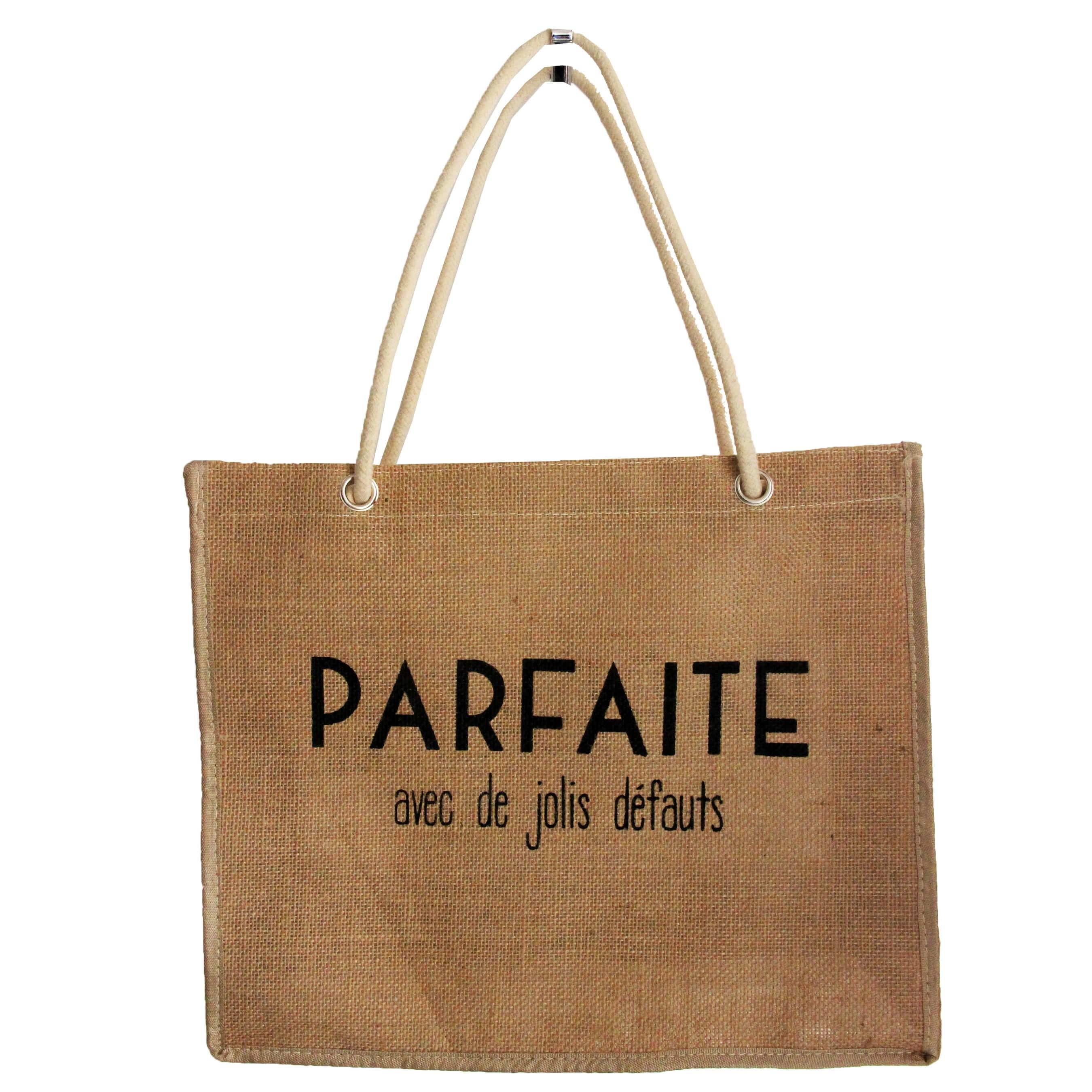 38b73b4ed6b7c Célèbre Vente de sacs à main en toile de jute chez Shopping et Mode WP04