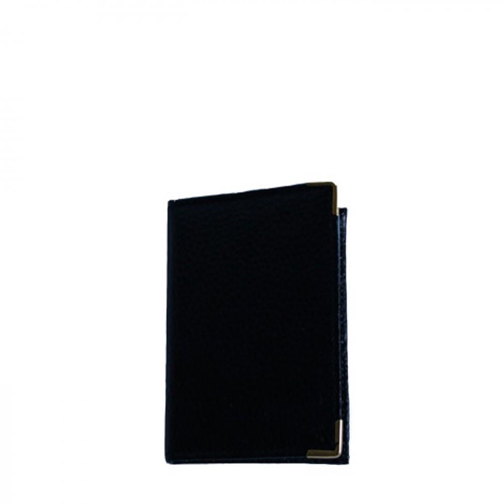 Portefeuille porte cartes noir classique avec nombreux for Largeur porte classique