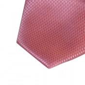 cravate-pochette-boutons-manchette-rose-uni-pique