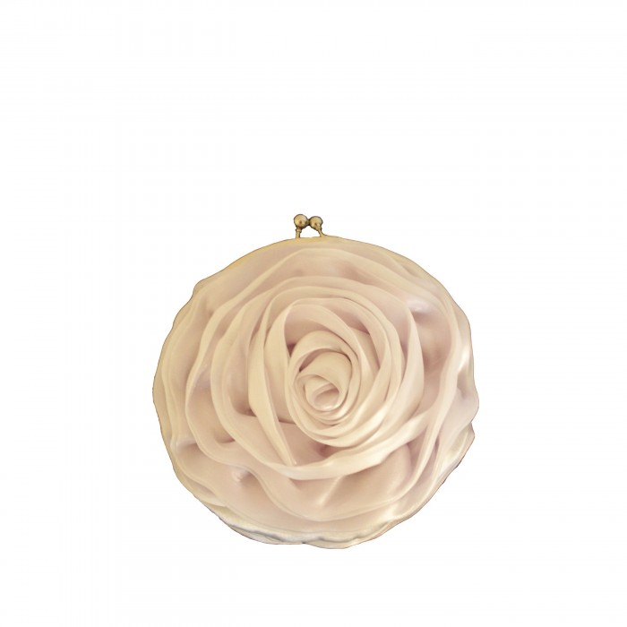 Petit sac à main en forme de fleur très vintage et original