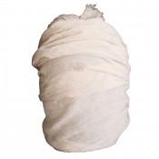 Etole couleur beige unie en coton