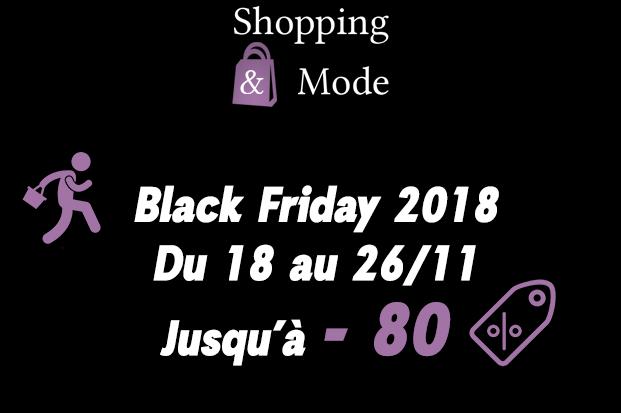 Black Friday 2018 Shopping-et-Mode